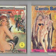 Cómics: EDITA ELVIBERIA AÑO 1976 - LUCIFERA,SHAFT,LANDO,ZARA LA VAMPIRA,LUCRECIA,HITLER ETC........ Lote 179345767