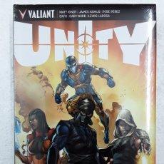 Cómics: UNITY (EDICIÓN DE LUJO) - KINDT, ASMUS, PÉREZ, CAFU, NORD, LAROSA - VALIANT / MEDUSA. Lote 179388803