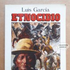 Cómics: ETNOCIDIO - LUIS GARCÍA - PAPEL VIVO - JMV. Lote 179401138