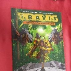Cómics: TRAVIS. Nº 1. OPERACION MINOTAURO. RECERCA. Lote 179556103