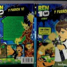 Cómics: BEN 10 Y FUERON 10 CN CARTOON NETWORK 2009. Lote 179911493