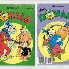 Cómics: DON DONALD WALT DISNEY,S N,60 Y 118 MONTENA. Lote 179942650