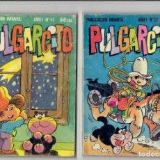 Cómics: PULGARCITO AÑO I N,41,13,32,76,22,42 Y N,135 AÑO IV - 1981 A 1984 EDITORIAL BURGUERA. Lote 179945217