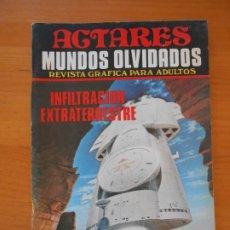 Cómics: ACTARES Nº 7 - MUNDOS OLVIDADOS - INFILTRACION EXTRATERRESTRE (C3). Lote 179946641