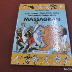 Cómics: AVENTURES ENCARA MÉS EXTRAORDINÀRIES D'EN MASSAGRAN - JOSEP M. FOLCH I TORRES - COF. Lote 179949147