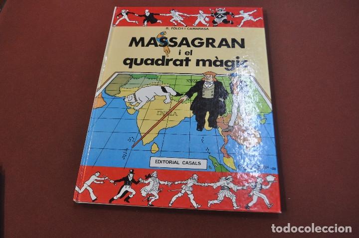 MASSAGRAN I EL QUADRAT MÀGIC - JOSEP M. FOLCH I TORRES - COF (Tebeos y Comics - Comics otras Editoriales Actuales)