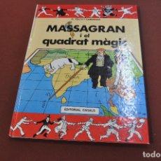 Cómics: MASSAGRAN I EL QUADRAT MÀGIC - JOSEP M. FOLCH I TORRES - COF. Lote 179949315