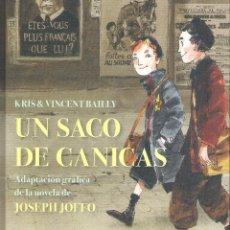 Cómics: UN SACO DE CANICAS , JOSEPH JOFFO. Lote 179950726