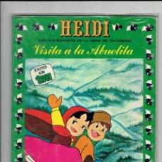 Cómics: HEIDI N,3 Y DE LOS APENINOS A LOS ANDES N,3 EDICIONES RECREATIVAS 1987. Lote 179954632