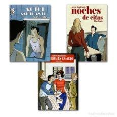 Cómics: ACTOR ASPIRANTE COMPLETA 1 A 3 - DOLMEN ''PRECINTADO''. Lote 179960336