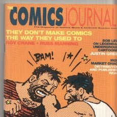 Cómics: MAGAZINE: THE COMICS JOURNAL NUM 203 APRIL 1998 - INTERVIEWS WITH ROY CRANE, RUSS MANNING. Lote 179961338