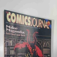 Cómics: MAGAZINE: THE COMICS JOURNAL NUM 189 AUGUST 1996. MIKE MIGNOLA - HELL (BOY) AND BACK, NEW WATCH .... Lote 179961393