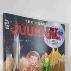 Cómics: MAGAZINE: THE COMICS JOURNAL NUM 225 JULY 2000. CONTENTS: WE CON AL JAFFEE, JACK DAVIS AND AL FE.... Lote 179961416