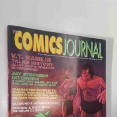 Cómics: MAGAZINE: THE COMICS JOURNAL NUM 212 MAY 1999. CONTENTS: INTERVIEWS (V.T. HAMLIN, JAY STEPEHNS),.... Lote 179961570