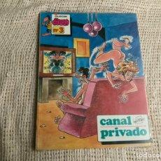 Cómics: COLECCION EL CUERVO Nº 3 , CANAL PRIVADO /POR: EPI - EDITA - EDITORIAL IRU - NUEVO. Lote 180013232