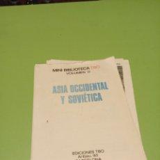Cómics: ASIA OCCIDENTAL Y SOVIÉTICA. Lote 180042708