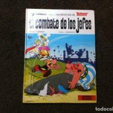 Cómics: ASTERIX. EL COMBATE DE LOS JEFES. Nº 10. ED. GRIJALBO/DARGAUD, 1981. TAPA DURA. Lote 180080827