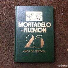 Cómics: MORTADELO Y FILEMÓN. 25 AÑOS DE HISTORIA. SÓLO SE NACE UNA VEZ. ED. BRUGUERA, 1983. TAPA DURA. Lote 180081238