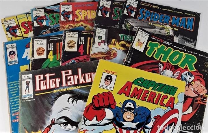 Cómics: MUNDI COMICS. 12 EJEMPLARES. VARIAS EDITORIALES. ESPAÑA. SIGLO XX. - Foto 2 - 180083267