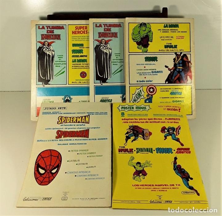 Cómics: MUNDI COMICS. 12 EJEMPLARES. VARIAS EDITORIALES. ESPAÑA. SIGLO XX. - Foto 8 - 180083267