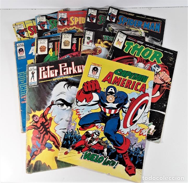 MUNDI COMICS. 12 EJEMPLARES. VARIAS EDITORIALES. ESPAÑA. SIGLO XX. (Tebeos y Comics - Comics Colecciones y Lotes Avanzados)