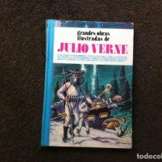 Cómics: GRANDES OBRAS ILUSTRADAS DE JULIO VERNE (TOMO 1) ED. BRUGUERA, 1979. TAPA DURA. Lote 180084888