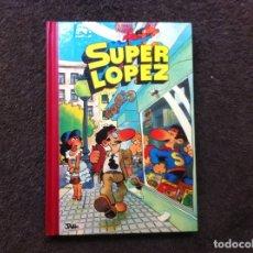 Cómics: SUPERLÓPEZ (TOMO 1) ED. BRUGUERA, SEPTIEMBRE, 1982. TAPA DURA. OCHO HISTORIAS. 1ª EDICIÓN. Lote 180085716