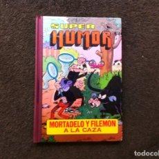 Cómics: SUPER HUMOR. (VOLUMEN III) ED. BRUGUERA, DICIEMBRE 1981. 4ª EDICIÓN. MORTADELO Y FILEMÓN A LA CAZA. Lote 180086943