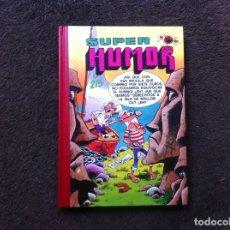 Cómics: SUPER HUMOR. (VOLUMEN 54) ED. EDICIONES B, 1991. MORTADELO FILEMÓN. ROMPETECHOS. Lote 180092890