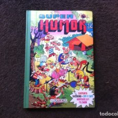 Cómics: SUPER HUMOR. (VOLUMEN XIX) ED. BRUGUERA, 1985. MORTADELO Y FILEMÓN. CARPANTA SACARINO. Lote 180094837