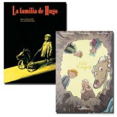Cómics: PACK EL CÓDIGO DEL CIEMPIÉS + LA FAMILIA DE HUGO. 2 CÓMICS - V.A. DESCATALOGADO!!! OFERTA!!!. Lote 180101716