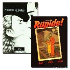 Cómics: PACK NOSOTROS LAS BESTIAS + RAPIDE. 2 CÓMICS - V.A. DESCATALOGADO!!! OFERTA!!!. Lote 180102070