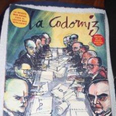 Cómics: REVISTA LA CODORNIZ Nº 1406 - 27 DE OCTUBRE DE 1968. Lote 180126040