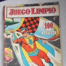 Cómics: JUEGO LIMPIO AÑO III; Nº 20 (EDITORIAL OESTE , ARGENTINA AÑOS 60)-RAREZA_. Lote 180130057