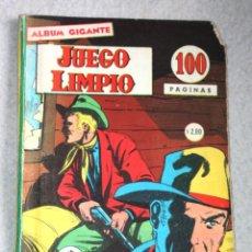 Cómics: JUEGO LIMPIO AÑO III; Nº 21 (EDITORIAL OESTE , ARGENTINA AÑOS 60)-RAREZA_. Lote 180130185