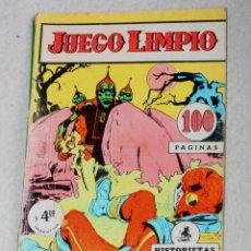 Cómics: JUEGO LIMPIO AÑO III; Nº 25 (EDITORIAL OESTE , ARGENTINA AÑOS 60)-RAREZA_. Lote 180130451