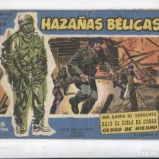 Cómics: HAZALAS BELICAS AZULES EXTRA NUMERO 15: UNA BARBA DE SARGENTO, BAJO EL CIELO DE COREA,. Lote 180146991