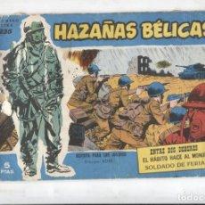 Cómics: HAZALAS BELICAS AZULES EXTRA NUMERO 235: ENTRE DOS DEBERES, EL HABITO HACE AL MONJE,. Lote 180147000