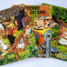 Cómics: BOB Y BOBETTE. LOTE TRES NÚMEROS, 1,2 Y 4. W. VANDERSTEEN. CÓMIC BELGA. 1969.. Lote 180154405