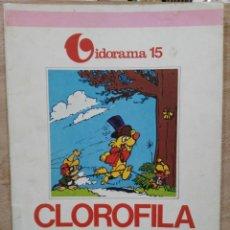 Cómics: VIDORAMA - Nº 15, CLOROFILA Y EL HURÓN. Lote 180167210