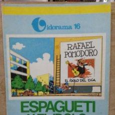 Cómics: VIDORAMA - Nº 16, ESPAGUETI Y EL ÍDOLO. Lote 180167255