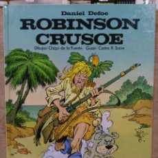 Cómics: MARAVILLAS DE LA LITERATURA - Nº 6, ROBINSON CRUSOE (DANIEL DEFOE) - ED. LAROUSSE. Lote 180167860