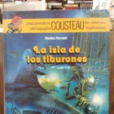 Cómics: LAS AVENTURAS DE COUSTEAU - LA ISLA DE LOS TIBURONES - ED. DEBATE/CÍRCULO. Lote 180167962