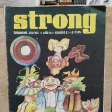 Cómics: STRONG - AÑO III, Nº 81 - ED. ARGOS JUVENIL. Lote 180168942