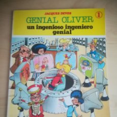 Cómics: GENIAL OLIVER UN INGENIOSO INGENIERO GENIAL JACQUES DEVOS. Lote 180181751