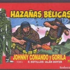 Cómics: EDT: JOHNNY COMANDO Y GORILA TOMO 1. Lote 180183852