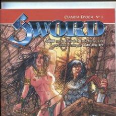 Cómics: SWORD CUARTA EPOCA NUMERO 3: CONAN EN LA REINA DE LA COSTA NEGRA. Lote 180184792