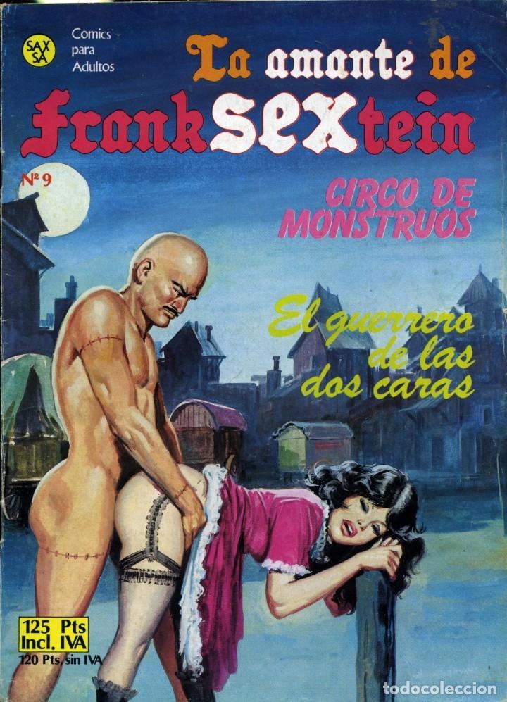 LA AMANTE DE FRANKSEXTEIN - SAX / NÚMERO 9 (Tebeos y Comics - Comics otras Editoriales Actuales)