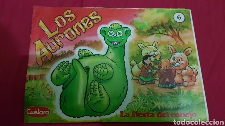 COMIC LOS AURONES 6 CUETARA (Tebeos y Comics - Comics otras Editoriales Actuales)