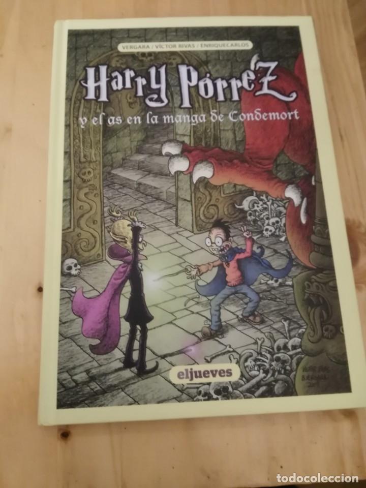 HARRY PORREZ Y EL AS EN LA MANGA DE CONDEMORT-HARRY POTTER EN ESPAÑOL! .1ª EDICIÓN ,DIFÍCIL (Tebeos y Comics - Comics otras Editoriales Actuales)